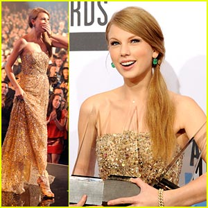 Taylor Swift: AMAs Artist of the Year 2011!