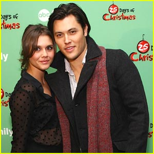 Alexandra Chando & Blair Redford Walk in a Winter Wonderland