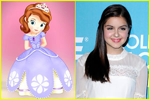 Ariel Winter is 'Sofia The First'