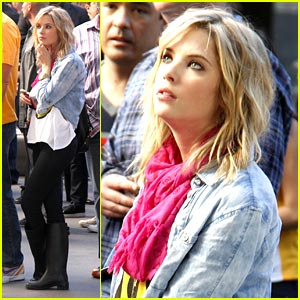 Ashley Benson: Staples Center Christmas Day