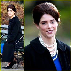 Ashley Greene Parks It for 'Pan Am'