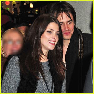 Ashley Greene: Rockefeller with Reeve Carney!