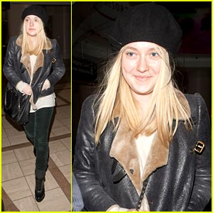 Dakota Fanning: Big Apple Bound