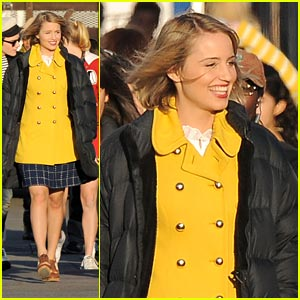 Dianna Agron: 'Grease' for Glee!