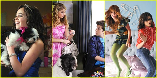 Stefanie Scott & Mary Mouser: New 'Frenemies' Pics!