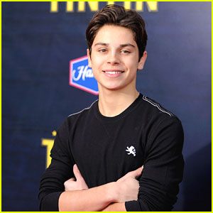 Jake T. Austin: 'The Adventures of TinTin' Premiere