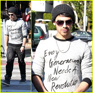 Joe Jonas: 'Dance Until Tomorrow'!