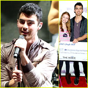 Joe Jonas: Q102 Jingle Ball!