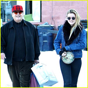 Lorraine Nicholson: Aspen with Dad Jack!