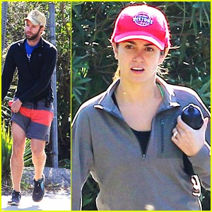 Nikki Reed: Hike with Husband Paul McDonald
