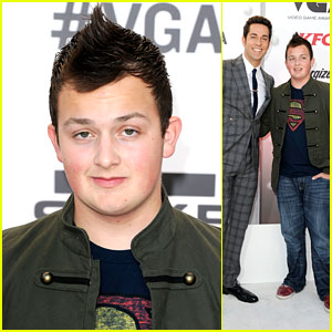 Noah Munck: Mohawk at Video Game Awards 2011!