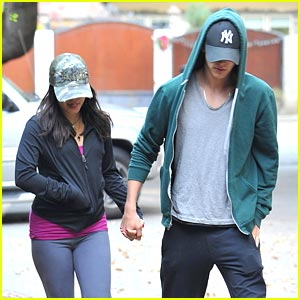 Vanessa Hudgens & Austin Butler: Day After C