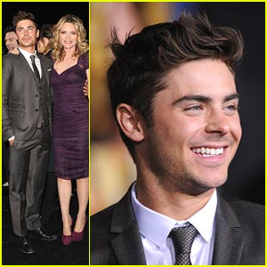 Zac Efron: 'New Year's Eve' Premiere!