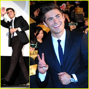 Zac Efron: 'New Year's Eve' in Tokyo!