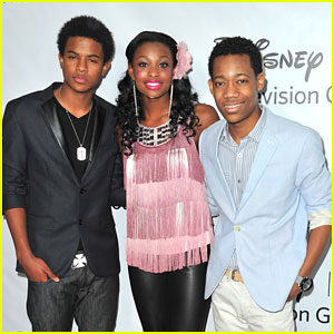 Coco Jones 'Lets It Shine' with Tyler James Williams