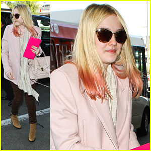 Dakota Fanning: Pink, Pink, Pink!