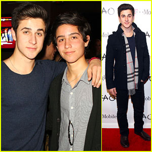 David Henrie: Sundance with Lorenzo!