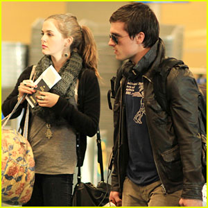Josh Hutcherson & Zoey Deutch: Vancouver To LA