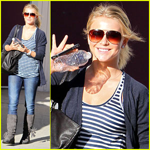 Julianne Hough: 'Rock of Ages' on Hollywood &#038; Vine