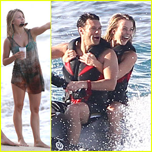 Julianne Hough: Jet Skiing with Ryan Seacrest!