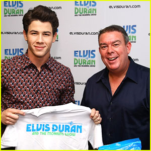 Nick Jonas Drops by The Elvis Duran Morning Show