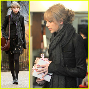Taylor Swift Visits Princess Diana's Me