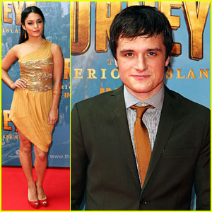 Vanessa Hudgens & Josh Hutcherson 'Journey' To Melbourne