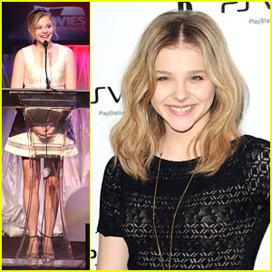 Chloe Moretz: PS Vita Launch!