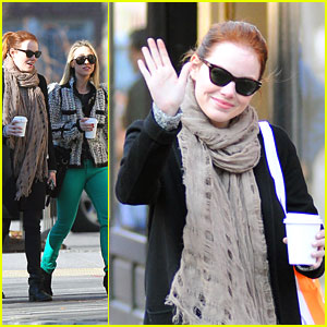 Emma Stone: First 'Amazing Spider-Man' Clip!
