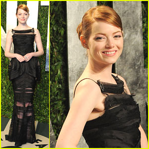 Emma Stone: Vanity Fair Oscar Party
