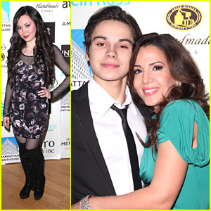 Jake T. Austin: INTAR Gala with Maria Canals-Barrera