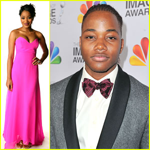 Keke Palmer &#038; Leon Thomas: NAACP Image Awards 2012