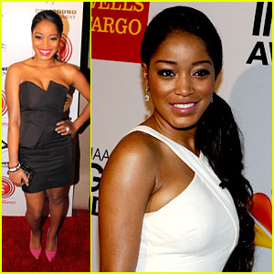 Keke Palmer & Leon Thomas: NAACP Image Awards Luncheon