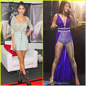 Selena Gomez: 'So Good to Be Back' in Brazil!