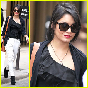 Vanessa Hudgens Shops at Chanel