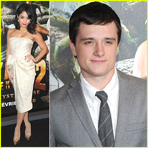Vanessa Hudgens & Josh Hutcherson: 'Journey 2' Premiere in Paris!