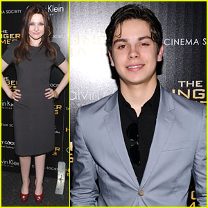Abigail Breslin &#038; Jake T. Austin: 'The Hunger Games' Screening