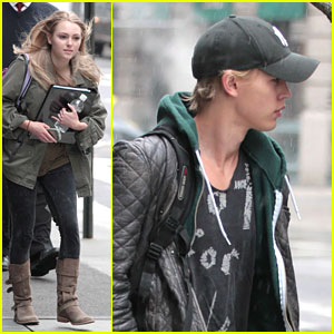 AnnaSophia Robb &#038; Austin Butler: 'Carrie Diaries' Duo