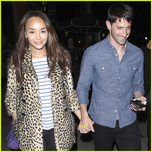 Ashley Madekwe & Iddo Goldberg: AOC Date Night