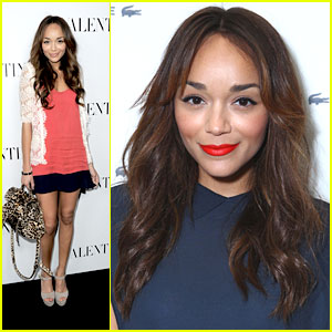 Ashley Madekwe: Lacoste & Valentino Openings!