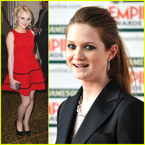 Bonnie Wright & Evanna Lynch: 'Harry Potter' Wins Best Film at Empire Awards 2012