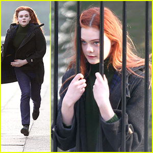 Elle Fanning is a Red Head!