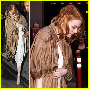 Emma Stone: 'Death of a Salesman' Opening Night!
