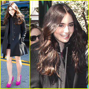 Lily Collins: 'So Proud' of 'Mirror Mirror'