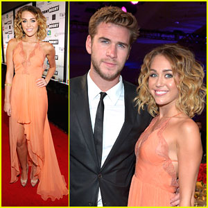 Miley Cyrus: Celeb Fight Night with Liam Hemsworth!