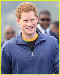 Prince Harry Goes Dancing in Jamaica