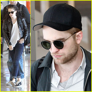 Robert Pattinson & Kristen Stewart: Au Revoir, Paris!