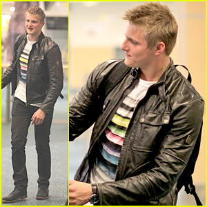 Alexander Ludwig: Easter Weekend in Whistler