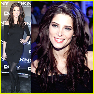 Ashley Greene: DKNY Show in Moscow!