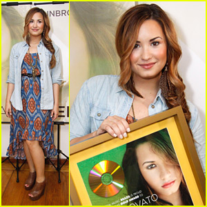 Demi Lovato: Gold Award in Rio!
